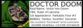 DoctorDoomData