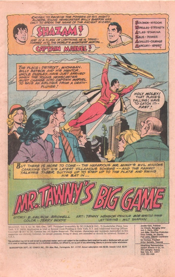 SHAZAM1977firstpage