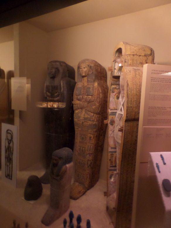 They have a lot of mummies. It's kind of creepy.