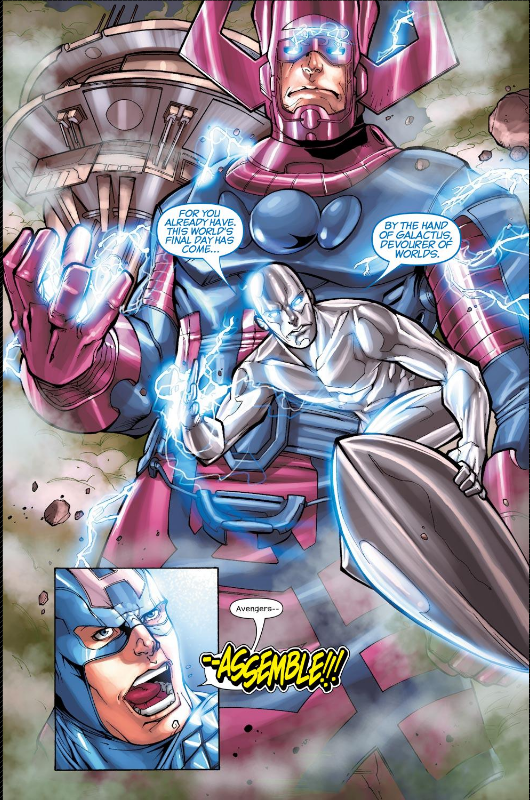 Galactus Arrives, Avengers Assemble