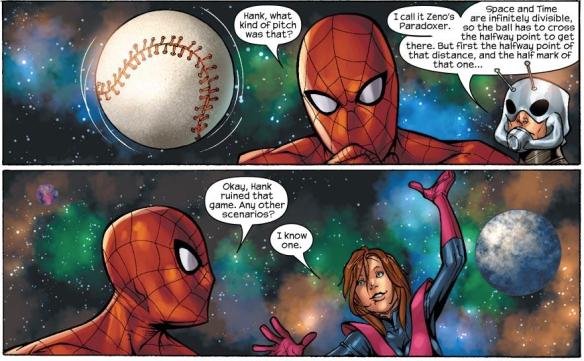 Ant-Man explains weird pitch.